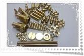 H62黄铜非标铜件 预埋六角铜螺母 B型嵌件螺母 H59铜螺母 定做