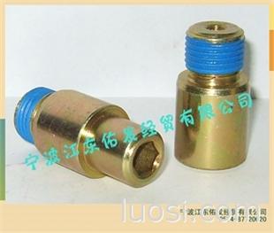 螺丝 螺杆 螺母 非标零件上胶加工服务 蓝色涂胶加工服务