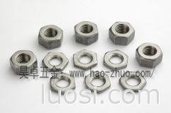 专业厂家生产 六角螺母,薄螺母,及非标螺母