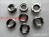金属自锁螺母 锁紧螺母 六角螺母 不锈钢圆螺母 GB6184  GB6185 GB812 GB810