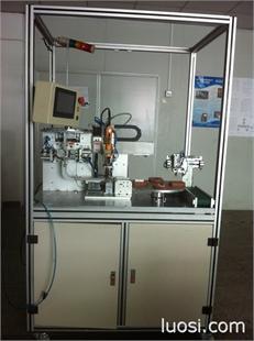 散热片自动锁螺丝机,散热片晶体自动锁螺丝机,www.szluosiji.net