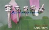 十字槽盘头螺钉、弹簧垫圈和平垫圈组合件
