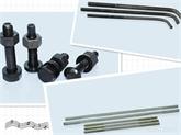 供应钢结构专用地脚螺栓、镀锌串杆、10.9级高强螺栓、10.9级扭剪、圆柱头焊钉、自钻螺钉、镀锌螺栓