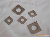 现货供应GB853槽用方斜垫圈, GB852工字钢用方斜垫圈