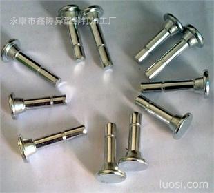 厂家专业生产各种台阶半空心异型铆钉,双头半空心铆钉