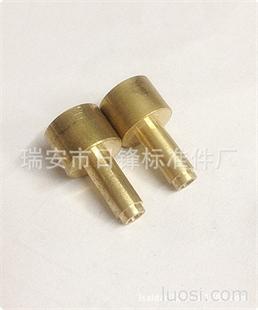 日锋标准件 精密铜件 非标铜件加工 温州厂家