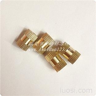 预埋铜螺母 注塑铜嵌件 铜螺母 温州铜件厂家