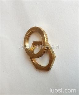 铜螺母 六角  薄螺母 非标铜件加工