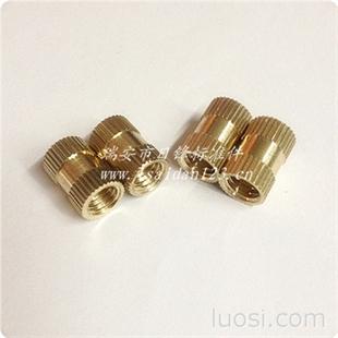 铜螺母 注塑铜螺母 直纹铜嵌件 非标铜螺母 加工