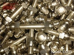 不锈钢钛合金标准螺栓紧固件  不锈钢钛合金非标螺丝