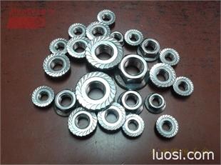 304 316 317不锈钢法兰面螺母紧固件 不锈钢法兰面螺母螺丝