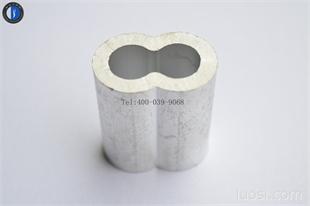 优质 高性价比 铝套 8字形铝套 双孔铝套 铝扣 铝接 铝束 夹头  量大从优 支持定做