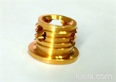 三圆孔铜螺套
