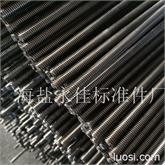 牙条 专业生产DIN975牙条环保电镀彩锌   M10