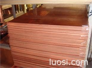 耐腐蚀TU1无氧铜板广东伟昌生产直销纯铜TU2无氧铜板