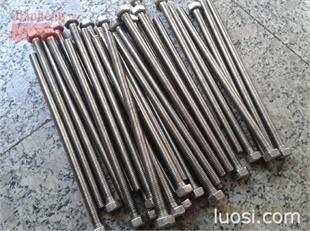 Monel蒙乃尔耐高温材料外六角螺栓紧固件 Mone材料外六角螺丝