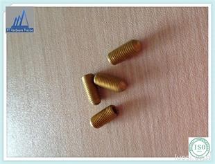 厂家现货低价供应  铜波珠内六角螺丝 通信螺丝