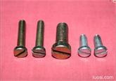 开槽圆柱头 一字槽圆柱头 开槽平圆头 机螺钉 机螺丝
