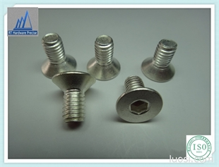 厂家现货低价供应  沉头内六角螺丝 碳钢镀银 碳钢镀锌螺丝