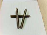厂家大量现货供应M8*80尖尾双头牙 单尖双头牙 锥形双头牙
