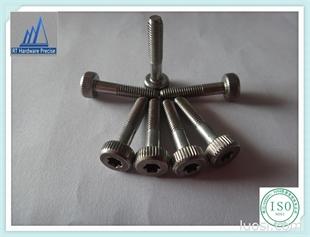 不锈钢滚花半牙机械螺丝