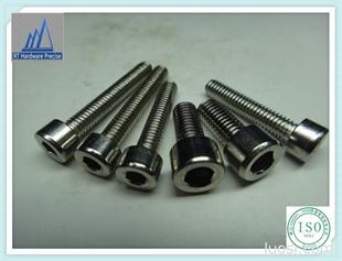厂家现货低价供应 不锈钢内六角圆柱头螺丝