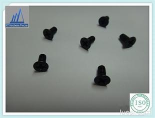 厂家现货低价销售 十字沉头机械螺丝发黑 镀锌碳钢