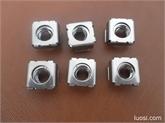 厂家直销 不锈钢304卡式螺母 M8卡母 螺母夹