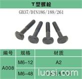 T型螺栓DIN188  DIN186