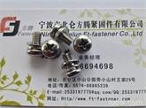 专业不锈钢304组合螺丝制造, GB9074.4盘头十字槽三组合螺钉库存齐全