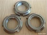 AN02进口全金属钢片自锁防松螺帽M15*1.0(U型螺帽)