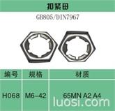 冲压自锁螺母DIN 7967