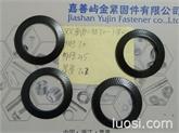 卡勒屿金供应德标防松双面压花带齿垫圈-DIN9250防松锁紧垫圈