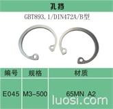 孔用挡圈—带内凸耳型DIN 984