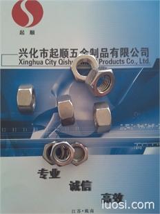 现货供应不锈钢304材质反牙(左牙)外六角螺母 定做316反牙螺母