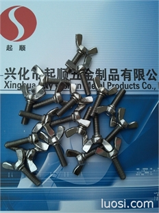 供应不锈钢DIN316蝶形螺丝 M3M4M5M6M8系列 现货价优