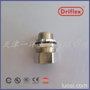 六角螺帽铜镀镍直头 铜接头 金属接头 金属防水接头