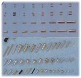【东莞螺丝厂】热卖 GB/T 846沉头尖尾微型自攻螺丝钉;车床件、铜针、PIN针、空心铆钉