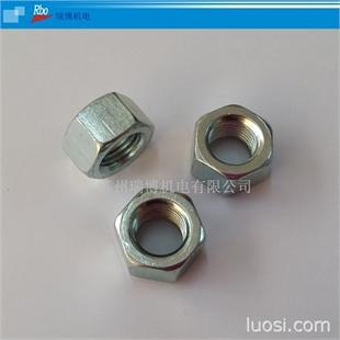 细牙螺母 GB6171 细螺帽 六角细牙螺母|镀锌螺母