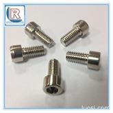 厂家供应优质DIN912不锈钢杯头内六角螺丝4*20