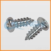 专业十字槽圆头自攻螺钉ISO  7049-1983 加工定做