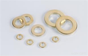 供应:黄铜平垫圈 铜垫片 黄铜 平垫 垫片DIN125 Brass washers