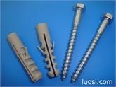 供应DIN571六角木螺钉配套塑料膨胀