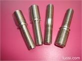 供应不锈钢非标螺丝 一字槽台阶双头螺丝