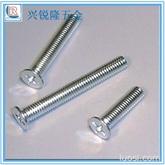 厂家热销GB815平头螺丝 十字沉头螺丝 M5M6平头螺钉