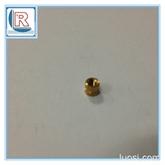 注塑铜螺母 铜嵌件 通预埋件滚花螺母