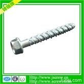 厂家供应 高低牙螺丝 麻花牙螺丝 外六角小华司 HWB1-4X2-1-4X12.7高低麻花牙