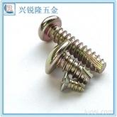广东BT螺丝 盘头自攻螺丝BT3*16 十字槽割尾镀镍螺钉