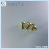 供应优质盘头铜螺丝 自攻铜螺丝 十字三角牙铜螺钉3*12