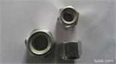 厂家现货低价处理GB889.1尼龙自锁螺母
